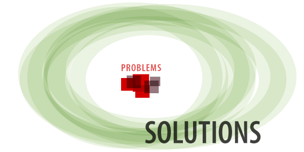 Moving from problems to solutions