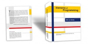 Elements of Programming, cover