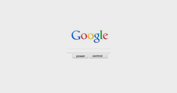 Search Engine Optimization: Power and control written on top of the Google page