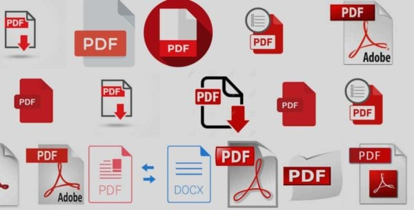 PDF icons of all varieties