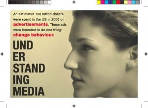 Postcard about understanding media