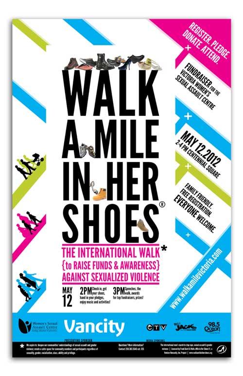 Walk a Mile Victoria poster 2012