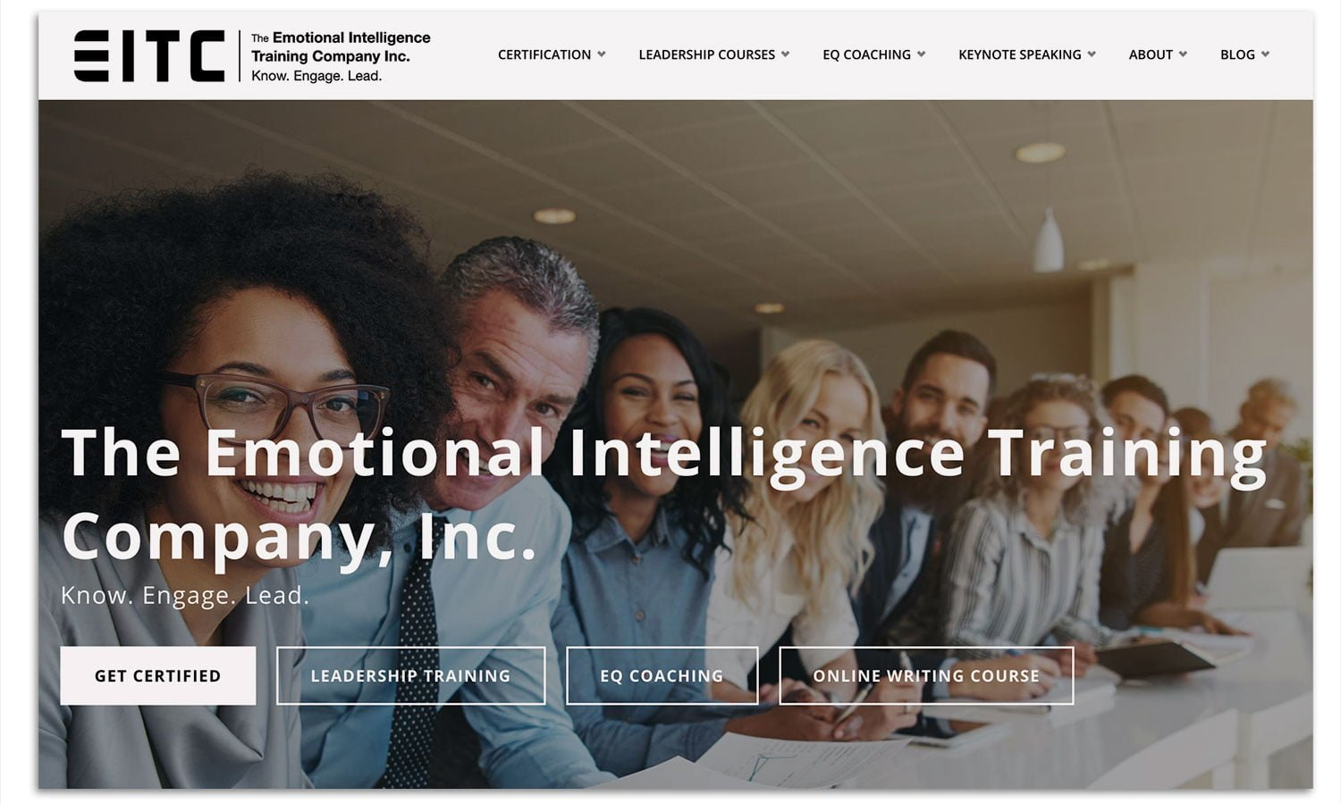 The Emotional Intelligence Training Company screenshot